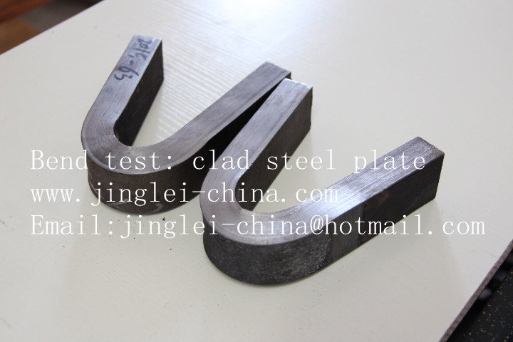 clad plate bend test